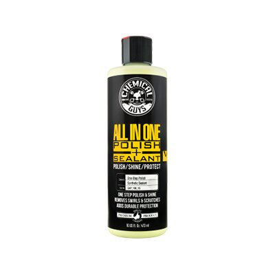 Chemical Guys V4 All-in-One Compound Polish полироль + глейз + силант, 473мл